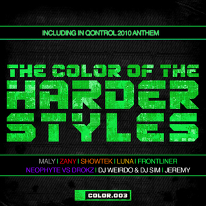 VARIOUS - The Color Of The Harder Styles: COLOR 003