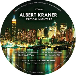 KRANER, Albert - Critical Nights EP