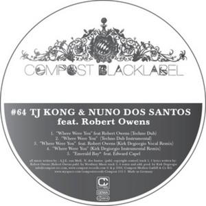 TJ KONG/NUNO DOS SANTOS - Black Label #64