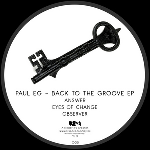 PAUL EG - Back To The Groove EP