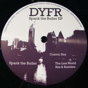 SPANK THE BUTLER - Spank The Butler EP