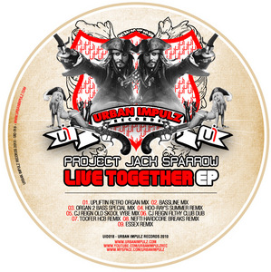 PROJECT JACK SPARROW - Live Together EP