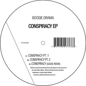 BOOGIE DRAMA - Conspiracy EP