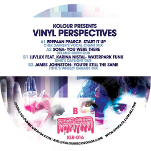 PEARCE, Erefaan/SONA/LUV LUX/JAMES JOHNSTON - Vinyl Perspectives