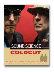 COLDCUT - Sound Science (Sample Pack WAV/APPLE/LIVE/REASON)