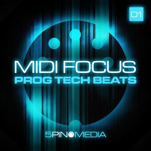 5PIN MEDIA - MIDI Focus: Prog Tech Beats (Sample Pack WAV/MIDI)