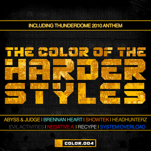 VARIOUS - The Color Of The Harder Styles (Part 4)