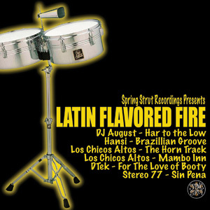 VARIOUS - Latin Flavored Fire