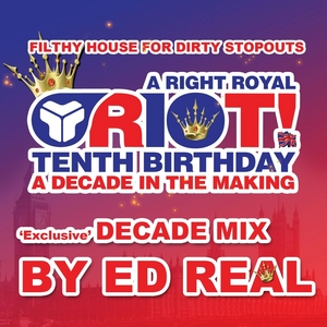 ED REAL/VARIOUS - A Decade Of Riot