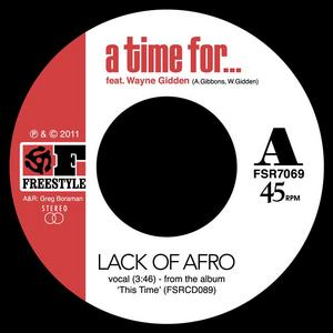 LACK OF AFRO - A Time For