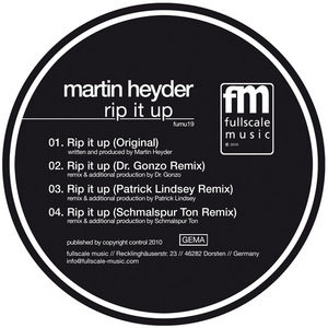 HEYDER, Martin - Rip It Up