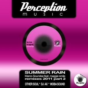 SOUNDEE, Marco feat MAGGIE SMILE - Summer Rain (remixes 2011 Part 2)