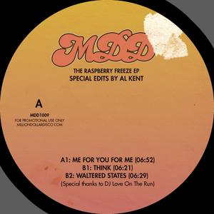 Al KENT - The Raspberry Freeze EP