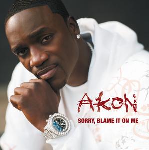 AKON - Sorry Blame It On Me (UK 2 Trk)