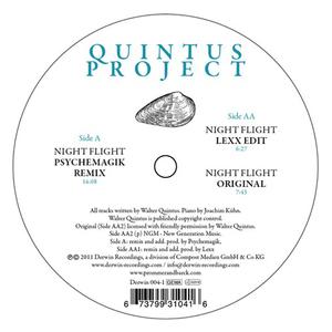 QUINTUS PROJECT - Night Flight (Lexx & Psychemagik remixes)