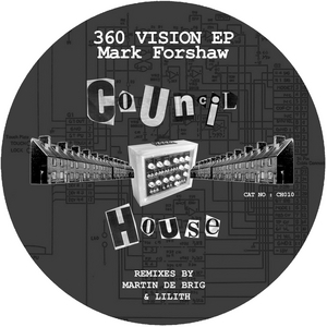 FORSHAW, Mark - 360 Vision EP