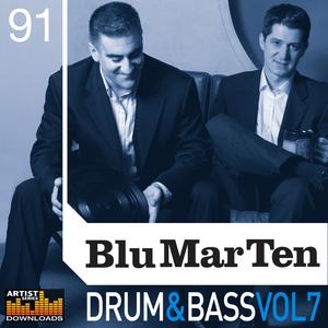 BLU MAR TEN - Drum & Bass Vol 7 (Sample Pack WAV/APPLE/LIVE/REASON)
