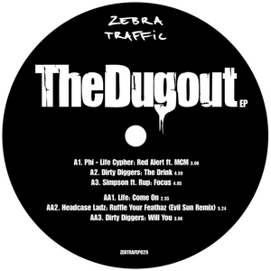 PHI-LIFE CYPHER/DIRTY DIGGERS/SIMPSON/LIFE/THE HEADCASE LADZ - The Dugout EP