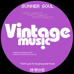 SUNNER SOUL - Crazy Game EP