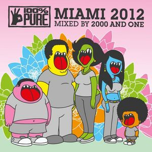 2000 & ONE/VARIOUS - 100% Pure Miami 2012