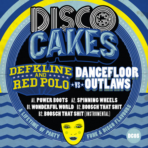 DEFKLINE & RED POLO VS DANCEFLOOR - Disco Cakes Vol 5
