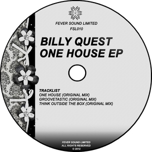 QUEST, Billy - One House EP