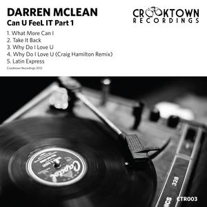 McLEAN, Darren - Can You Feel It (Part 1)