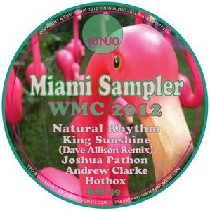 PATHON, Joshua/HOTBOX/NATURAL RHYTHM/KING SUNSHINE/ANDREW CLARKE - WMC Miami Sampler 2012