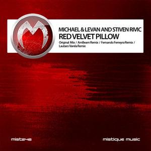 MICHAEL & LEVAN/STIVEN RIVIC - Red Velvet Pillow