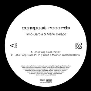 GARCIA, Timo/MANU DELAGO - The Hang Track Pt II