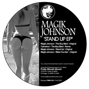 MAGIK JOHNSON - Stand Up EP