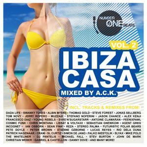 ACK/VARIOUS - Ibiza Casa Vol 2 (mixed by ACK: incl 32 unmixed tracks & 2 non stop DJ mixes)