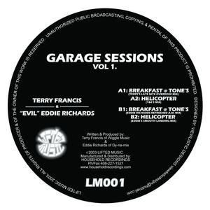 FRANCIS, Terry/EVIL EDDIE RICHARDS - Garage Sessions Vol 1
