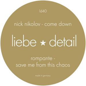 NIKOLOV, Nick/ROMPANTE - Come Down