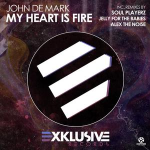 DE MARK, John - My Heart Is Fire