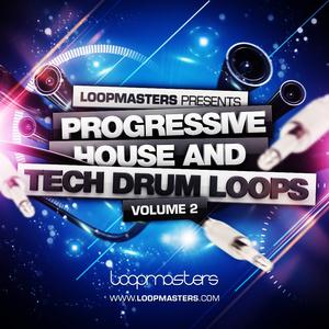 LOOPMASTERS - Progressive House & Tech Drum Loops Vol 2 (Sample Pack WAV/APPLE)