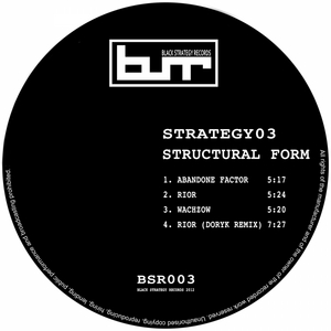 STRUCTURAL FORM - Strategy03