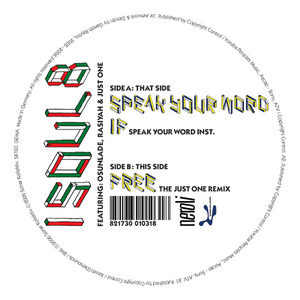 ISOUL8 - Speak Your Word EP