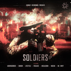 ADDERGEBROED/LIFECYCLE NL/MEGALODON/NICKSN/MC SWIFT - Soldiers EP