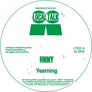 HNNY - Yearning EP