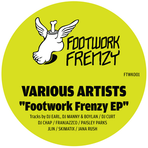 VARIOUS - Footwork Frenzy EP