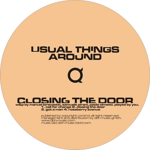 USUAL THINGS AROUND - Closing The Door EP