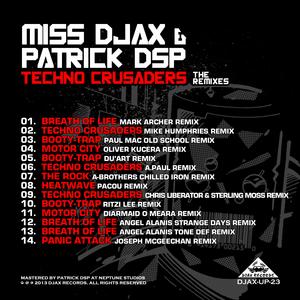 MISS DJAX/PATRICK DSP - Techno Crusaders (The Remixes)