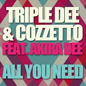 TRIPLE DEE/COZZETTO/AKIRA DEE - All You Need