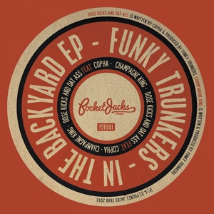 FUNKY TRUNKERS/COPHA - In The Backyard EP