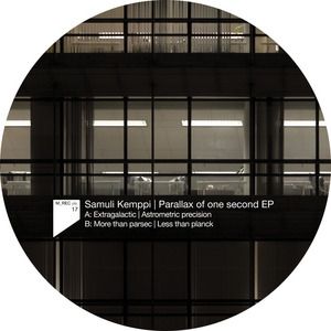 KEMPPI, Samuli - Parallax Of One Second EP