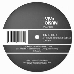 TIMID BOY - A Tribute To Some People I Love EP
