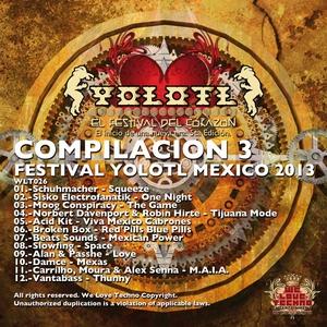 VARIOUS - Compilacion 3 (Festival Yolotl Mexico 2013)