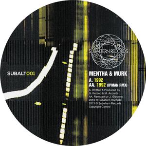 MENTHA/MURK MTD - 1992