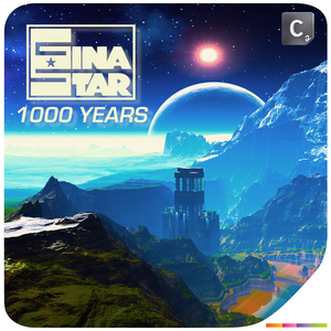 GINA STAR - 1000 Years (remixes)